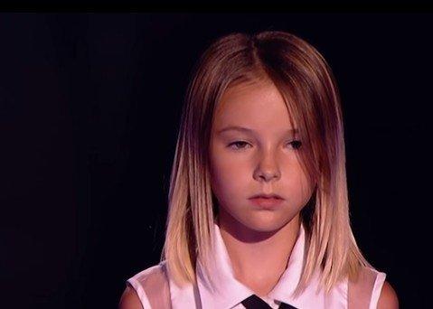 Девочка восхитила всех своим выступлением! Браво!