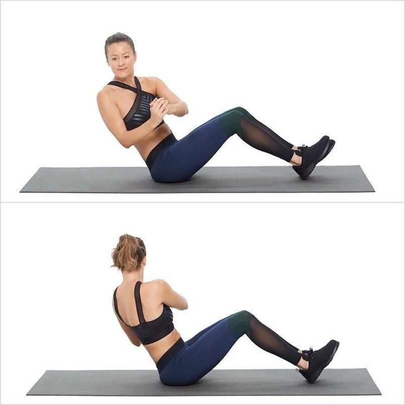 6 упражнений, которые сожгут жир на животе быстрее, чем что угодно!
