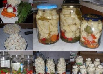 Как замариновать цветную капусту-рецепт очень вкусный