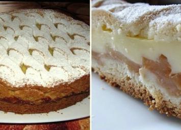 Если готовить пирог с яблоками, то только так. Отличная замена Шарлотке.