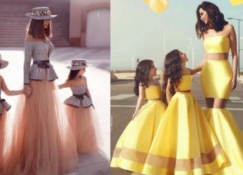 Сказочные наряды для мамы и дочери