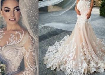 Дух захватывает! Красивые,стильные свадебные платья 2019 года
