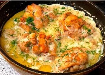 Если готовлю курицу, то только по этому рецепту. Получается вкусно и сытно