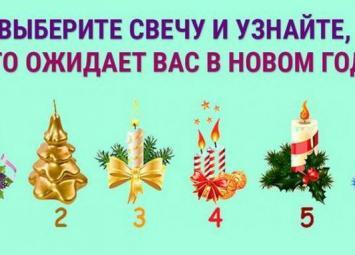 Пройдите тест и узнайте, что ждет вас в новом году