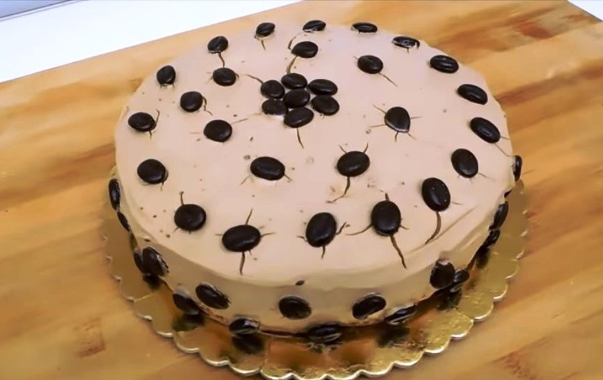 Легкий и нежный десерт Delizia al Caffè