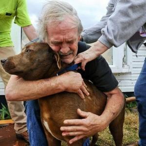 Мужчина, узнав о тяжёлой болезни своей собаки, потратил на её спасение всё, что было